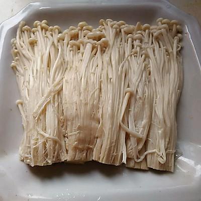 培根金针菇卷的做法 步骤1