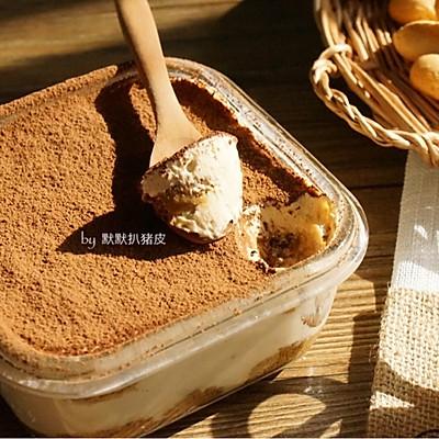 传统版【提拉米苏】附超松脆手指饼干做法