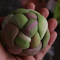 果蔬绣球馒头的做法图解9