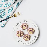 猫爪紫薯发糕#柏翠辅食节-健康食疗#