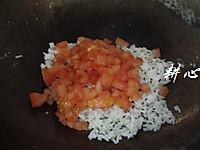 番茄蛋炒饭#极速早餐#的做法图解9