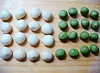 抹茶绿豆酥的做法图解2