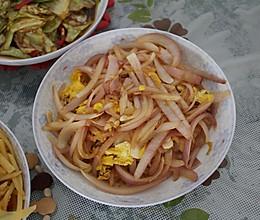 洋葱炒蛋的做法
