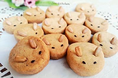 全麦兔子饼干——萌萌治愈系