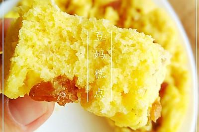 【玉米面发糕】——松软可口,小婴儿也可以吃哦