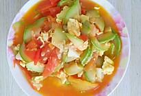 角瓜炒西红柿鸡蛋的做法