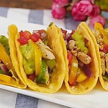 墨西哥塔克(鸡肉卷饼)|食空