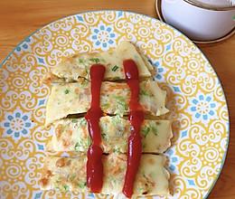 鸡蛋蔬菜饼的做法