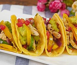 墨西哥塔克(鸡肉卷饼) 食空的做法