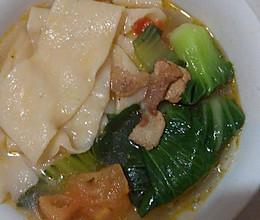 暖身饭一面片汤的做法
