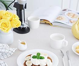 香甜的香蕉松饼的做法