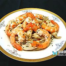 意大利海鲜色拉