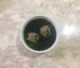 一碗清淡鲜美的牛筋丸汤的做法