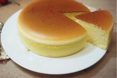 轻乳酪芝士蛋糕6寸 #优阳烘焙#