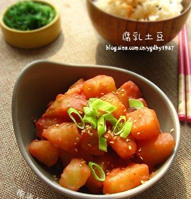 一道征服全家的土豆菜——【乳腐土豆】的做法