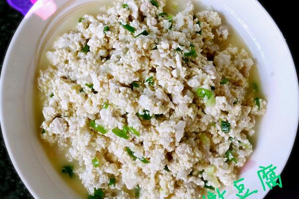 黄金嫩豆腐的做法
