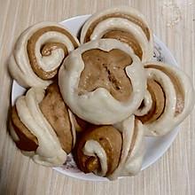 #憋在家里吃什么#香甜花卷