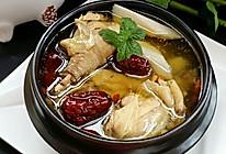 山药红枣炖鸡汤(补气血)#黑人牙膏一招制胜#的做法
