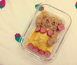 #从此爱上吃饭#小熊便当的做法