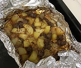 居家烧烤:孜然羊腿肉的做法