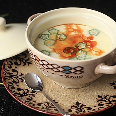 【秋葵海参炖蛋】——完美炖蛋的技巧