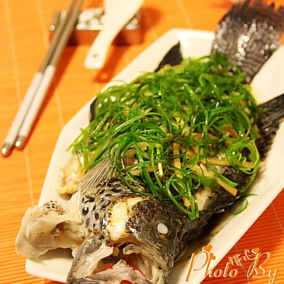 清蒸石斑鱼