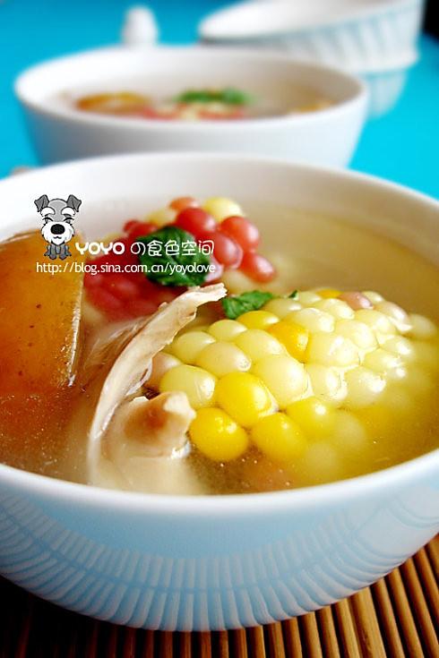苹果玉米汤的做法