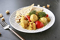 花式健身沙拉之咖喱时蔬烩肉丸的做法
