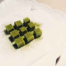 日式抹茶生巧克力