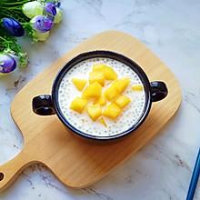 牛奶芒果西米露#精品菜谱挑战赛#