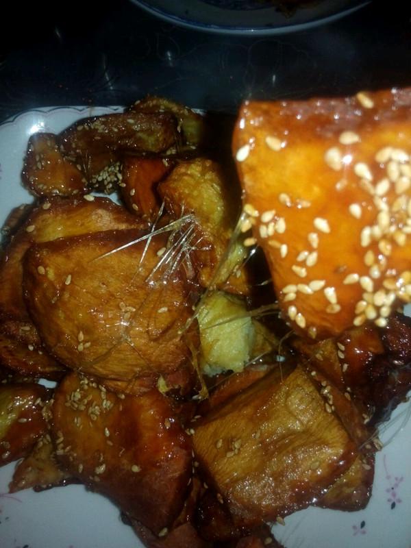 拔丝红薯(地瓜)的做法