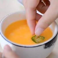 秋葵蒸水蛋#爱的味道#的做法图解1