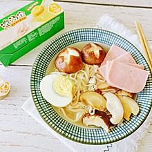 #饕餮美味视觉盛宴#十分钟做出美味的香菇鸡汤面