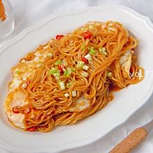 #元宵节美食大赏#好吃解馋的酸辣荷包蛋焖面