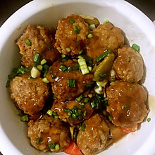 炸肉丸子的做法视频_蒸肉丸子怎么做_蒸肉丸子的做法_豆果美食