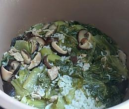 钙菜饭的做法