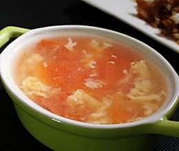 番茄蛋花汤的做法