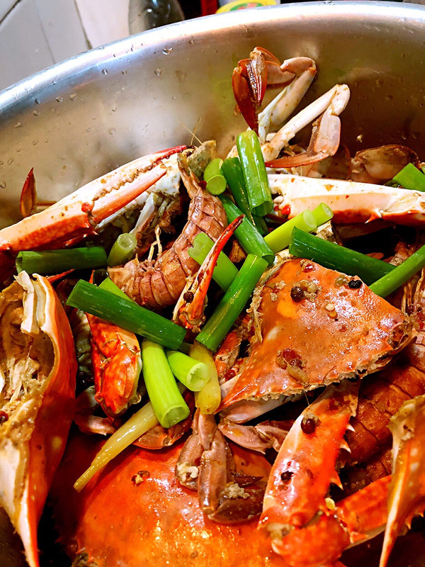 麻辣螃蟹皮皮虾
