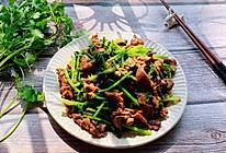 #春日时令,美味尝鲜#小炒牛肉的做法