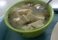雪菜豆腐汤的做法