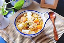 南瓜茯苓燕麦粥的做法