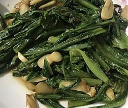 蒜蓉油麦菜的做法
