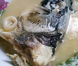 胖头鱼豆腐浓汤的做法