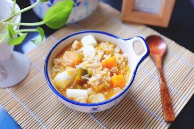 南瓜茯苓燕麦粥