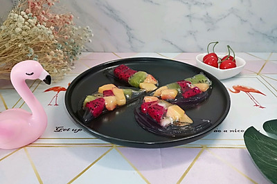 水晶水果饺(减脂版)