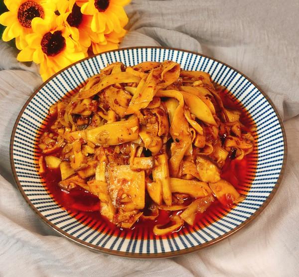 红油杏鲍菇的做法