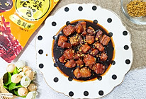 #一人一道拿手菜# 桂花红烧肉的做法