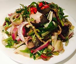 老虎菜(海参版)#我买新鲜味#的做法