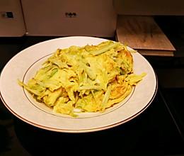 #少盐饮食 轻松生活#上班族快手菜→韭黄炒鸡蛋的做法