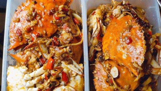 #橄享国民味 热烹更美味#香辣梭子蟹(附详细清洗方法)的做法